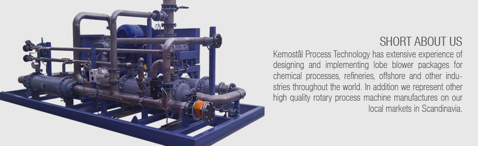 Kemostål Lobe Blower Package